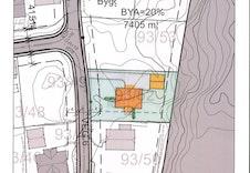 Forslag på plassering av bolig