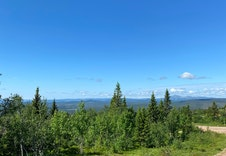 Utsikt mot nord-vest.