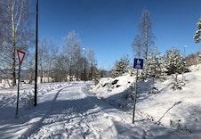 Gangvei til busstopp