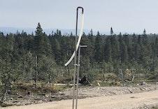 Vannposter på tomtefeltet