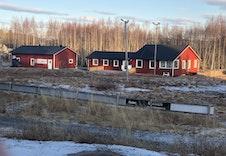 Skistadion 200 meter fra boligene.