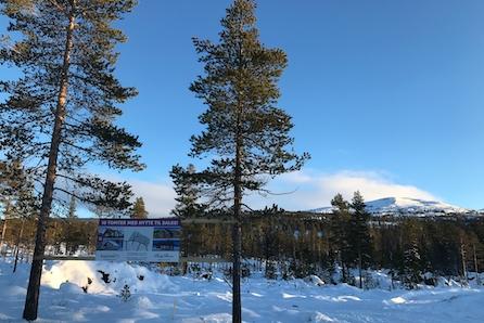 Hyttetomter med solrik og sentral beliggenhet på Turufjell. Prosjekterte Birkenhytter fra Boligpartner. H90 er solgt.