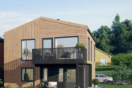 Store Bergan - Moderne Townhouse med dobbelgarasje - 1 solgt / 3 ledige