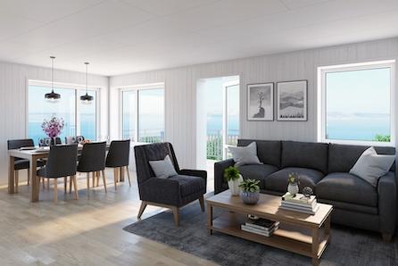 Moderne leiligheter midt i Judaberg sentrum - 2 soverom - nøkkelferdig! Fra kun kr 2.450.000,-