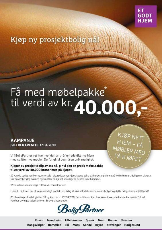 Ramstadåsen // Åsgreina: tradisjonell og fin 2 MB // alt på ett plan // Få med møbelpakke til kr. 40.000,-