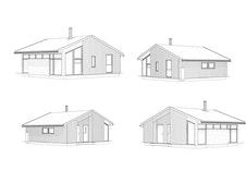 Fasade skisse standard
