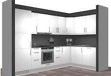 Kjøkken med hvitevarer leilighet 1 og 2