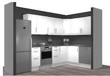 Standard kjøkken leilighet 1 og 2