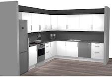 Standard kjøkken leilighet 3 og 4