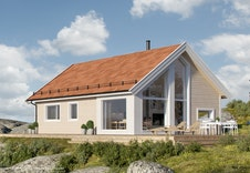 Hytte i Sogndal Skisenter - Hodlekve. (Illustrasjon: Kvarstad frå BoligPartner)