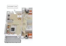 Hovedplan leilighet 2,4,6