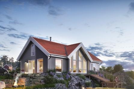 Voss - Prosjektert hytte fra Boligpartner med høy kvalitet! Flott beliggenhet i Bordalen, solrikt og nydelig utsikt!