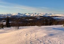 Mot Jotunheimen Nasjonalpark i   vest