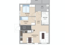 Plantegning leilighet 2