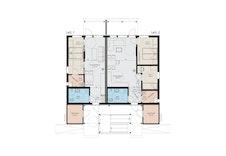Planløsning leilighet 1 og 2