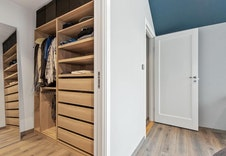 Sov 4 m/ Walk in closet (illustrasjon)