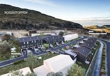 Illustrasjon som viser hvordan boligene kan bli. Bildet er en illustrasjon som kan avvike fra virkelig miljø og omgivelser.