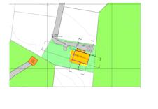 Fc229 situasjonskart, prosjektert Halvor Bakke hytte.