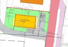 Situasjonsplan Notveien 10 - romslig tomt på 617m2