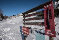 Skiløype som går rett ved tomten. Denne går fra Langeland og opp til blant annet Bogerfløyta/skihytta.