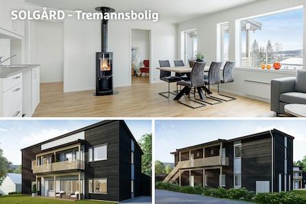 RAUFOSS - Ny og moderne leilighet med gode solforhold, fin utsikt og 2 soverom! Ta kontakt for privatvisning!