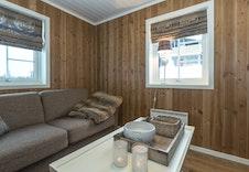 TV-stue i kundetilpasset variant av Utsikten