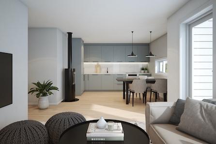 Heggenes - Sentralt beliggende tomannsboliger! 2 av 4 leiligheter er solgt!