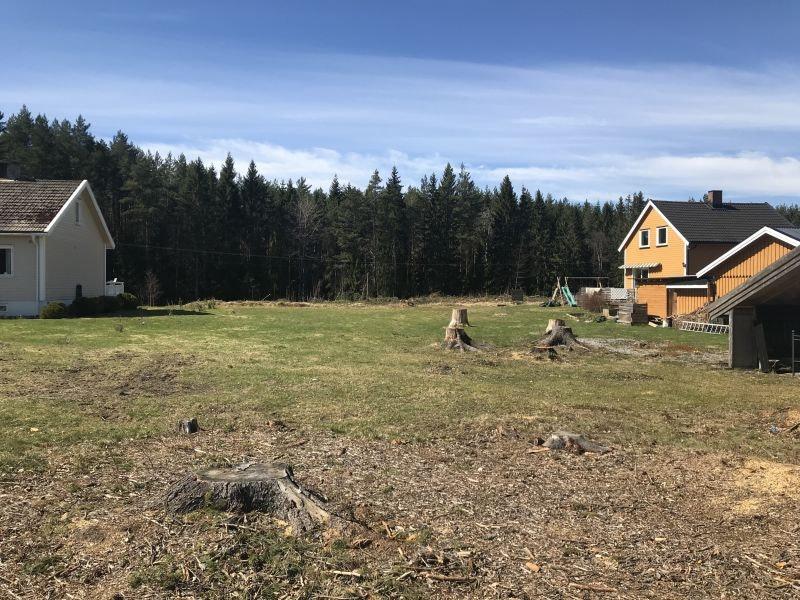 ÅRNES/DRAGSJØVEGEN// Sjelden mulighet, flat og solrik tomt kun 3 km fra Årnes sentrum
