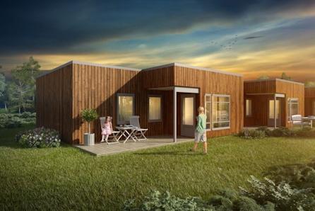 Moderne 3-roms ett-plans rekkehusboliger, med carport, solrikt og flott beliggende med god utsikt.
