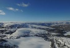 Turufjell - Utsikt Vest