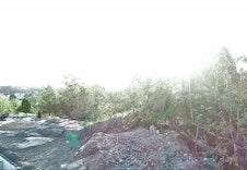 Utsikt mot nordøst - fra 10 m høyde
