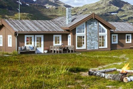 Storslagen hytte på flotte tomter i Svaenlia - Budor