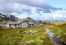 Utsikten hyttemodell er en storslått hytte som kan huse hele åtte overnattingsgjester.