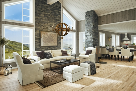 Veggli/Rustvegen Vest - En av våre mest populære hyttemodeller, flott beliggende med utsikt mot Hardangervidda