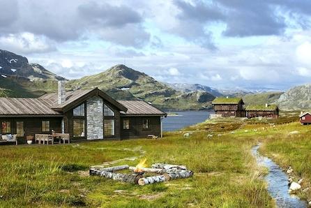 SØTELIFJELL - Storslått familiehytte med nærhet til Norges største vernede naturskogområde