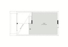 Plantegning hemsplan, 40 m2 gulvflate - Konsept V2