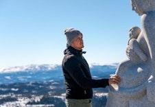 Madonnastien ble kåret til Norges beste turrute i 2018, og ligger like i nærheten
