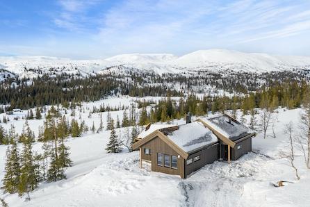 Veggli/Rustvegen Vest - 10 tomter med panoramautsikt mot Hardangervidda. Visning 7/3 12-14
