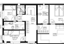 1.etasje hvor garasje er gjort om til hybel/leilighet (tillegg)