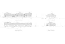 Illustrasjon av fasader.